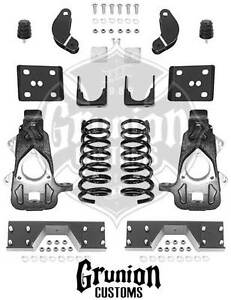 2006 2008 Dodge Ram 1500 Extended Quad Cab 4 6 Lowering Kit Mcgaughys 44024