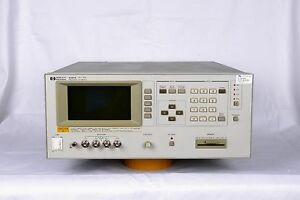 Keysight agilent hp 4284a Precision Lcr Meter 20hz 1mhz W Opt 001 006 4284a opt