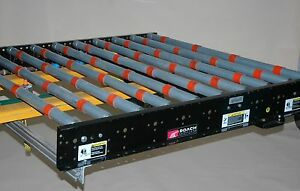 Roach 371582 Powered Roller Conveyor Glass Solar Handling 60 X 60