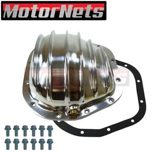 Ford Truck 12 Bolt Polished Aluminum Differential Cover W Sterling Ring Gear
