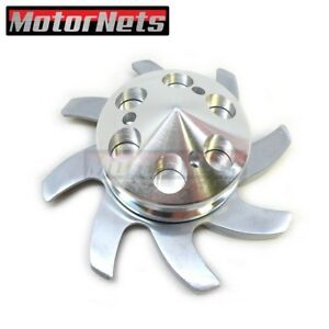 Gm Aluminum Alternator Fan Pulley Set Sbc Bbc Chevy Olds Pontiac 327 350 454