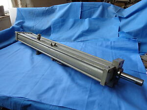 Double Pneumatic Cylinder Air 100 Psi Max 1 Bore 5 1 4 Stroke Aries Hpt151 5fh