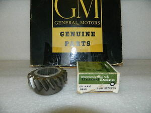 Nos Gm Transmission Reverse Idler Gear 1960 63 Corvette With 4 Speed T10