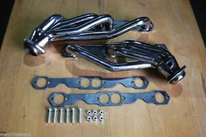 88 97 For Gm Gmc Chevy Truck Stainless Steel Header 5 0 5 7 Manfifolds Headers