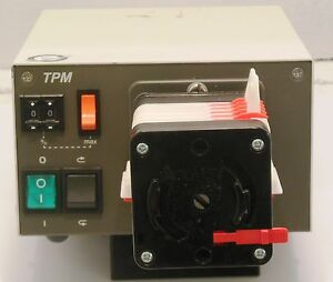 Watson Marlow Tpm Pumppro Variable Speed Drive Peristaltic Pump 036 4321 opo