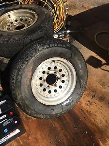 4 Toyota Bullet Hole Wheels With Good Tires