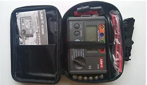 New Ut526 Insulation Earth Rcd Electrical Tester Meter
