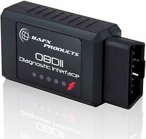 Bafx Products Bluetooth Obd2 Obdii Car Diagnostic Code Reader Scanner Tool