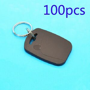 Rfid Tag 100pcs 125khz Id Em Proximity Induction Keyfobs For Door Access Control