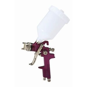 20 Oz Hvlp Gravity Feed Paint Spray Gun Air Tool 20 50 Psi