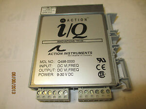 Action Instruments Q498 000 Signal Conditioner Isolator