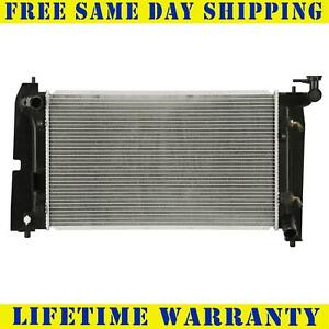 Radiator For 2003 2008 Toyota Matrix Corolla Pontiac Vibe 1 8l Free Shipping