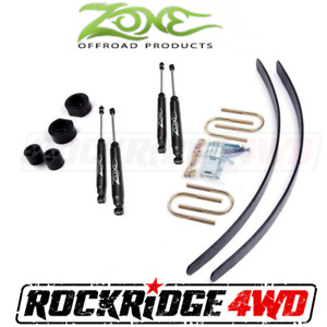 Zone 2 Suspension Lift Kit System 4x4 Jeep Cherokee Xj 84 01 For Chrysler 8 25