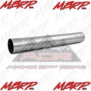Mbrp Muffler Delete Pipe 4 Inlet Al Mda30 Outlet 30 Overall