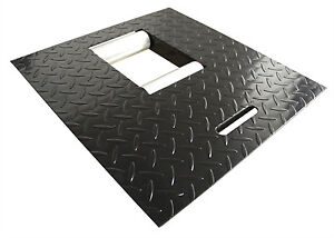 New Redline 1500hd Motorcycle Lift Table Black Roller Drop Out Panel
