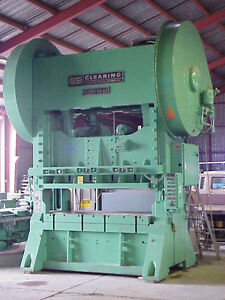 250 Ton Clearing Model S2 250 84 48 Straight Side Press 12 Str 11 R a