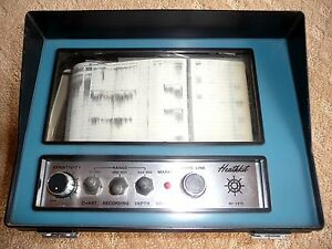 HEATHKIT MI-2910 Zenith  DEPTH SOUNDER & FISH FINDER
