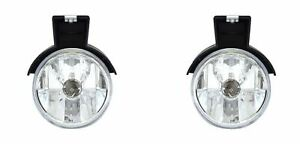 For 1997 2000 Dodge Dakota 1998 2000 Durango Fog Light Lamp Pair Left Right