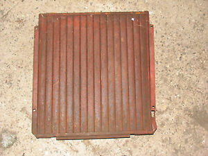 Ih International Farmall Radiator Shutters