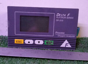Used Delta F Df 310 Platinum Series Oxygen Analyzer Controller make Offer