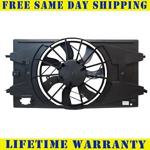Radiator And Condenser Fan For Chevrolet Cobalt Saturn Ion 3 Prong Gm3115179