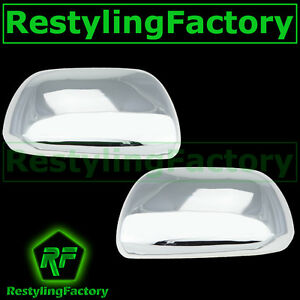 12 2013 Toyota Sienna Triple Chrome Plated Abs Mirror Cover 13 Trim Kit