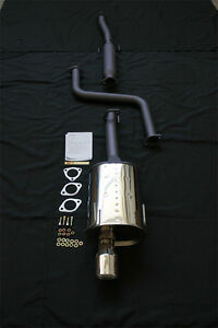 Apexi Ws2 94 01 Integra Rs Ls Gs Type R 00 01 Gsr Wsii Catback Exhaust System