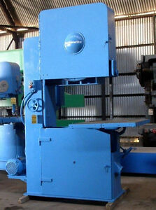 36 Tannewitz Model G1n Vertical Band Saw Mfg 1985