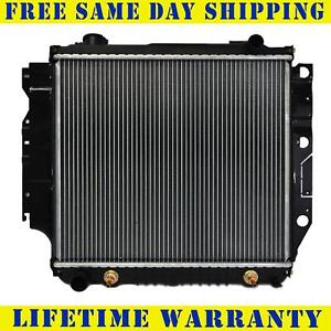 Radiator For 1987 2006 Jeep Wrangler 4cyl 2 4l 2 5l V6 4 0l 4 2l Free Shippng