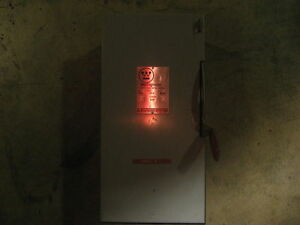 30 Amp Westinghouse Fusible Safety Switch Hfn361