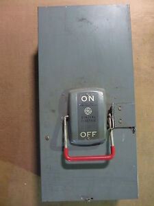 Ge 200 Amp Safety Switch Th4324