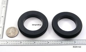 2 Very Large Rubber Grommets 1 1 2 Inner Diameter Fits 2 Panel Hole