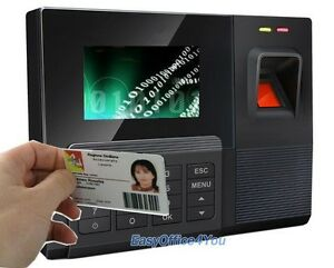 Spanish Free Software Biometric Time Attendance Terminal With Rfid Reading