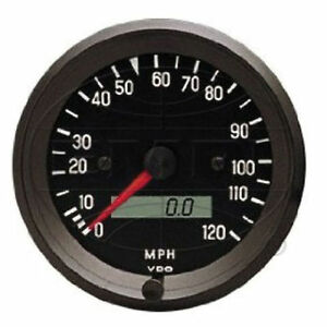 Vw Bug Air Cooled Vdo Cockpit Speedometer 120 Mph 3 3 8 437052