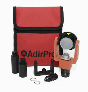 Adirpro Mini Prism System W Center Vial 720 04 Total Station Surveying Topc