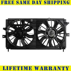 Radiator And Condenser Fan For Chevrolet Monte Carlo Impala Gm3115122