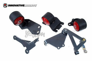 Innovative 49150 Motor Mounts Kit 60a B16 B18 Swap Civic Crx 88 91 Hydro