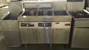 Frymaster 2 Fryer With Magic Ii Filtration System Fmg214sc