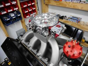 Ford 460 429 Based Drag Race Engine 1100 Horsepower 875 Tq Bbf 598 612 Barnett