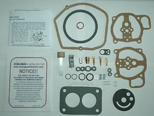 1949 51 Carb Kit Ford Mercury Lincoln Holley 885ff Side Draft 2 Barrel New