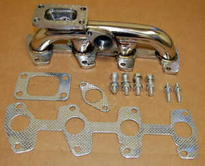 94 02 For Chevy S10 Vortec 2 2 T3 Stainless Turbo Manifold Racing Exhaust Header