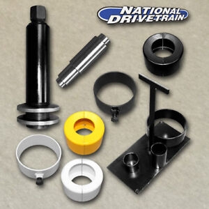 Clamshell Carrier Bearing Puller Kit For Side Differential Pinion Bearings
