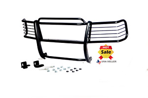 Fits 2000 2006 Gmc Sierra 2500hd 3500hd Grille Guard Black Push Bumper Bar