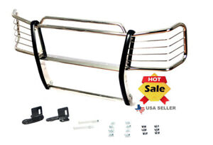 1999 2006 Gmc Sierra 1500 Grill Guards In Stainless Steel Chrome Bumper