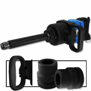Industrial Air Impact Wrench 1 Pneumatic Compressor Long Shank 1 900 Ft lb