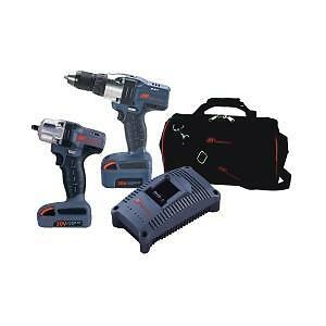 Ingersoll Rand 20v Iqv 3 8 Dr Cordless Impact Wrench Drill Kit Ir Iqv20 202