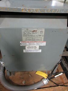 Square D 25kva Insulation Transformer 25s5h