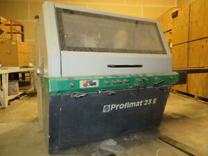 Weinig Profimat 23e X4 Head Moulder Knife Grinder Moulder Heads And More