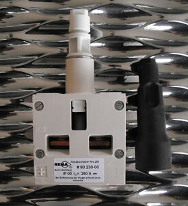 Rema Rn250 80230 00 250a Emergency Disconnect Switch For Forklift pallet Stacker