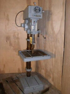 20 Clausing Variable Speed Drill Press Floor Model 4 Mt 1 Hp